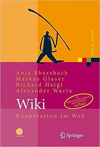 Wiki: Kooperation im Web (Xpert.press)