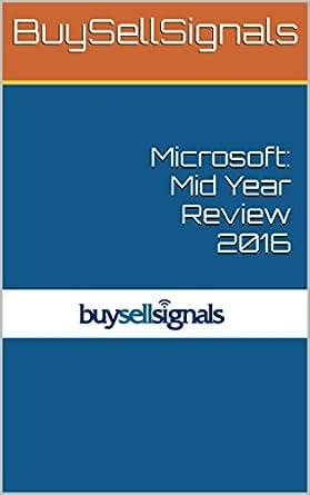 Amazon com: Microsoft: Mid Year Review 2016 eBook