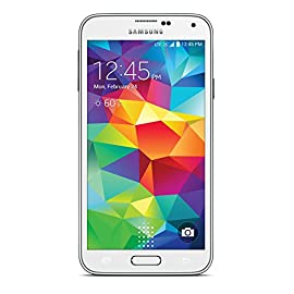 Samsung Galaxy S5 White 16GB (Sprint Prepaid) 14 For use exclusively on Sprint Prepaid network 16 Mega Pixel Camera Built-in heart rate sensor