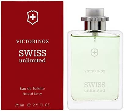 Swiss Army Swiss Unlimited for Men 2.5 oz Eau de Toilette Spray