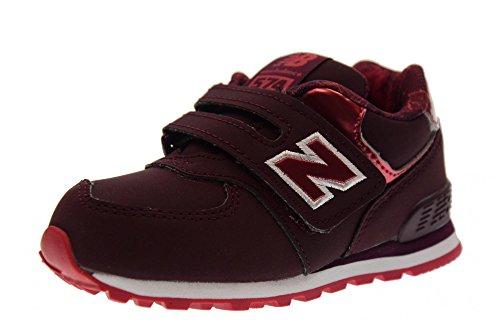 New Balance 574v1, Zapatillas Unisex Niños Bordeaux