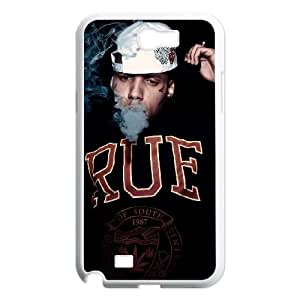 Samsung Galaxy N2 7100 Cell Phone Case White KiD Ink Clear Phone Case Cover Hard CZOIEQWMXN14986