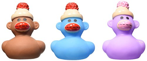 Fun Express Monkey Rubber Ducks