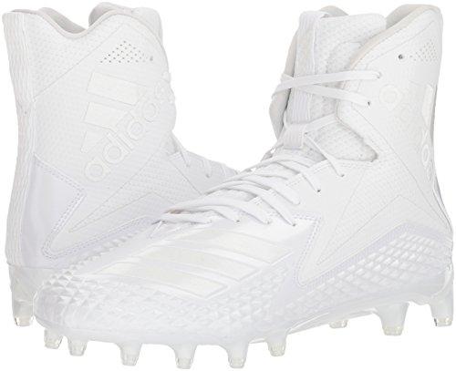 Pictures of adidas Men's Freak X Carbon Mid DB0243 White/White/White 4