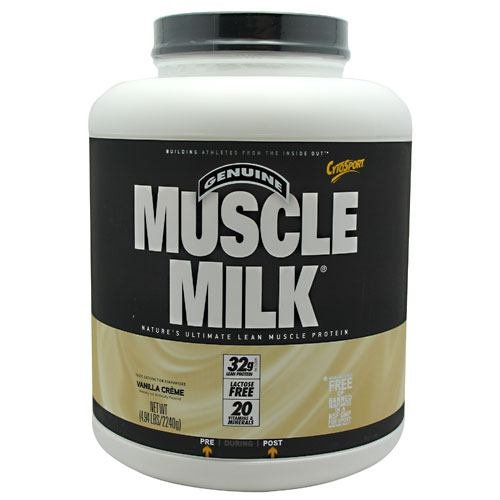CytoSport Muscle Milk - Vanilla Creme - 4.94 lbs (2240 g) - Cytosport Muscle Milk Powder Vanilla Creme