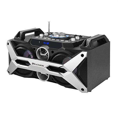 Blackmore BBX-504 Amplified Audio Speaker System w/FM/Rechargebale/Bluetooth/USB/SD-In/R Blackmore