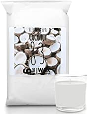 Coconut 83 Wax - Wax for Candle Making - 6lbs Coconut Wax Blend (6-1lbs Bars)