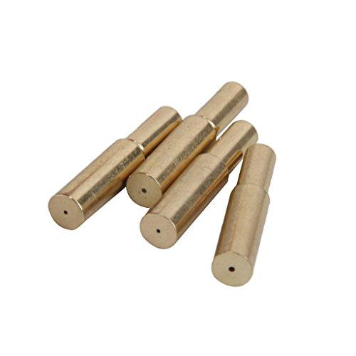 Beetest-EU-100 PCS Metal Replacement Shoelace Shoe Lace Aglet Tip Head Aglets End Black