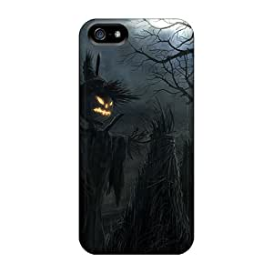 5/5s Scratch-proof Protection Case Cover For Iphone/ Hot Halloween Scarecrow Phone Case