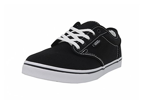 Vans Atwood Low Valcanised Skate, Women's Low-Top Trainers, Black/True White, 6.5 UK / 40 EU