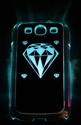 avci Base 4260310646312lumière Coque avec couvercle de batterie pour Samsung Galaxy S3i9300Noir