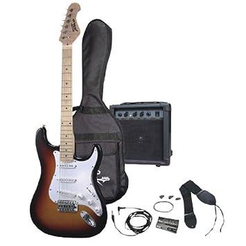 PylePro PGEKT30 - Kit de guitarra eléctrica (tipo sunburst): Amazon.es: Instrumentos musicales