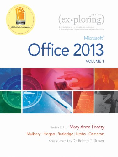 Exploring microsoft office 2013 volume 1 microsoft office 2013 exploring microsoft office 2013 volume 1 microsoft office 2013 volume 1 exploring fandeluxe Images