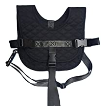 Vine Baby Safety Harness Newborn Seat Safety Vest Travel Plane Car Train Portable Kids Seat Belt (Black)