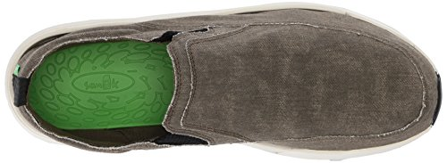 Sanuk Unisex Adulto Chiba Quest Slipper Verde (oliva)