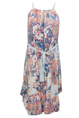 blau Damen A Linie Mogul blau Kleid Interior q68ZAgxO