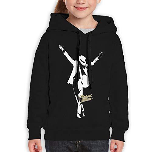 (MUPTQWIU Youth Michael -Jackson Fashion Travel Black Hoody)
