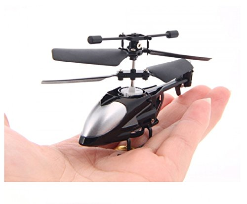 Black QS QS5013 2.5CH Mini Micro Remote Control RC Helicopter by 24/7 store