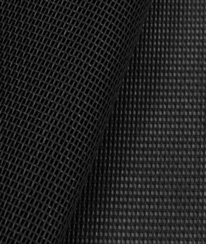 Phifertex Standard Solids - Black Fabric - by the Yard