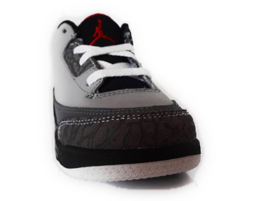 72acbb6a75c NIKE AIR JORDAN 3 RETRO (TD) TODDLER 832033-003 (4, STEALTH / VARSITY RED -  RT GLPHT - BLACK) - Buy Online in Oman. | Apparel Products in Oman - See  Prices, ...