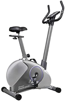 JOLTA – Power Peak Fitness Bicicleta Estática Slim Line, azul ...