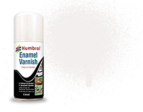 - Humbrol AD6997 Enamel Gloss Shade 35 Varnish Spray, 150 ml