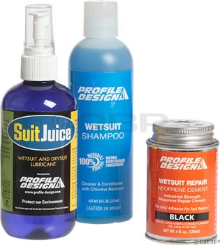 Profile Design Wet Suit Maintenance - Wetsuit Profile Design
