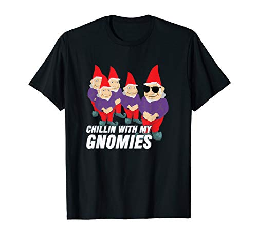Chillin with my Gnomies, Cute Gnome TShirt]()