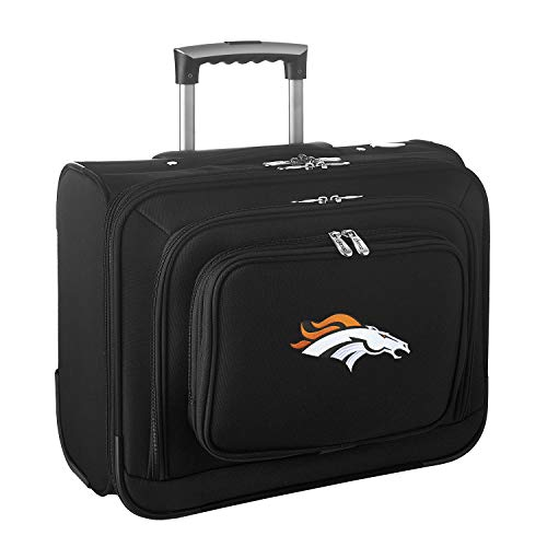 NFL Denver Broncos Wheeled Laptop Overnighter
