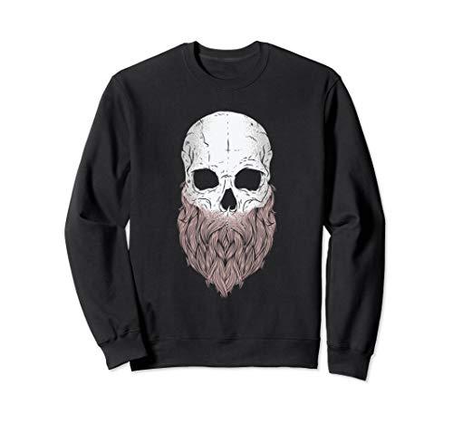 Bearded Skull - Halloween Costume Idea Sweatshirt -
