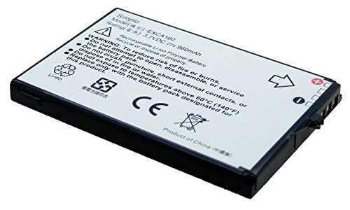 960 Mah Standard Battery (Simplo 960 mAh Standard Battery HTC EXCA160 35H00080-00M (Pack of 2))