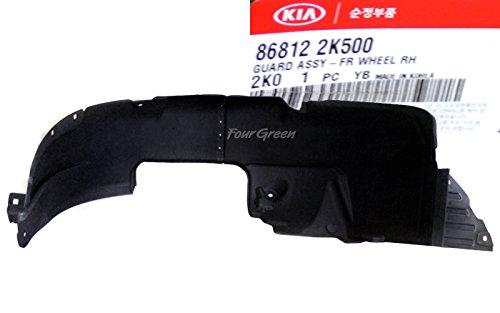 868122K500 OEM Genuine Fender Liner wheel guard Front Right KIA SOUL 2012-2013
