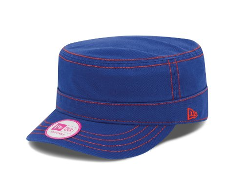 MLB New York Mets Women's Chic Cadet Military Cap (One Size Fits All)