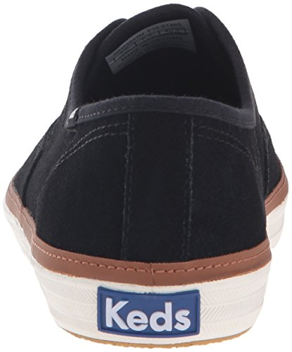 Keds Womens Champion Suede Fashion Sneaker Black Iqh1n