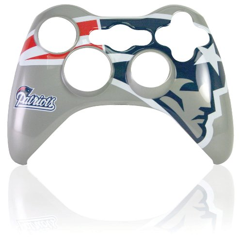 Xbox 360 Official NFL New England Patriots Controller Faceplate (Xbox 360 Official Nfl)