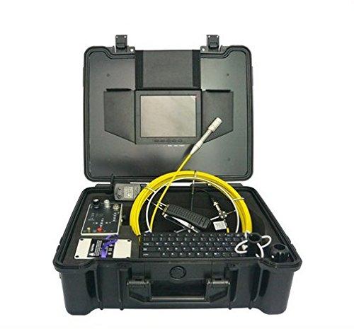 "GOWE 512Hz transmitter water well chimney 20m fiberscope cable inspection camera Sensor Size:1/4""; Horizontal Resolution:420TVL; Signal System:NTSC"