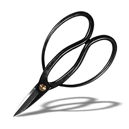 Seki Japan Bonsai Tool, Scissors, Carbon Steel Trimming Shear, 7.1 inch (180mm)