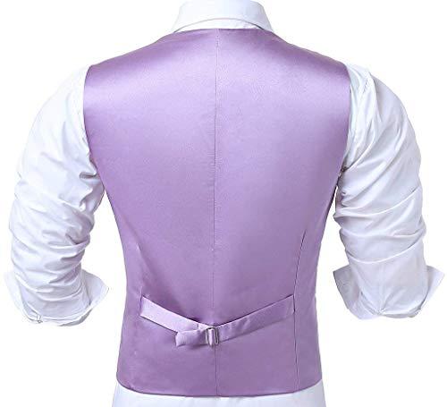 Retro Hellviolett Blazer Tuxedo De Fête Hommes Nner Fit Gilet Slim Costume Mariage Brown wafq4xI7