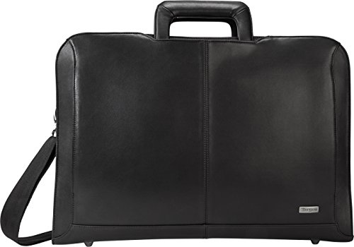 Targus Executive Laptop Bag for 15.6-Inch Laptops, PU-Coated Leather, Black (TBT261US)