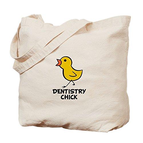 CafePress–denistry Chick–Leinwand Natur Tasche, Reinigungstuch Einkaufstasche, canvas, khaki, S