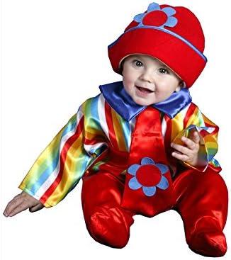 Disfraz de Payaso bebé 6-12 meses para bebé: Amazon.es: Juguetes y ...