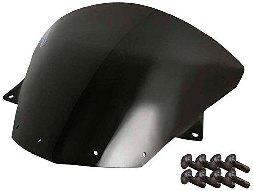 (Sportbike Windscreens ADKW-412DS Dark Smoke Windscreen (Kawasaki Zx10 (08-10) Zx-6R(09-14) with Silver Screw kit), 2 Pack)