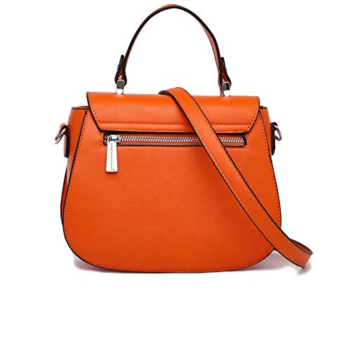 strap pocket bag and 22x17x8cm ladies alessandro long and inside ca Trendy Pink and with detachable back on shoulder handbag collezione orange zip the FOvqZwYF