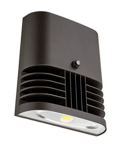 Lithonia Lighting OLWX1 LED 13W 50K 120 PE M4 LED Wall Pack, Dark Bronze