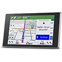 Garmin DriveLuxe 50 NA LMTHD GPS Navigator System with Lifetime Maps and Traffic, Smart Notifications, Voice Activation, Driver Alerts, and a Sleek Metal Design (Certified Refurbished)