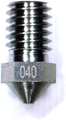 0.4mm Diameter Tungsten 3D Printer M6 Extruder Nozzle