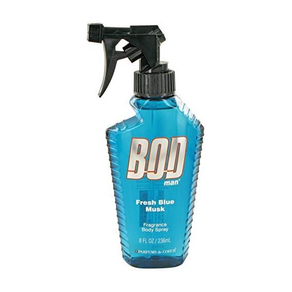 Bod Man Fresh Blue Musk 8 oz Body Spray