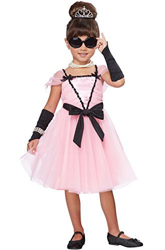 [California Costumes Movie Star Costume, One Color, 3-4] (Hollywood Celebrities Halloween Costumes)