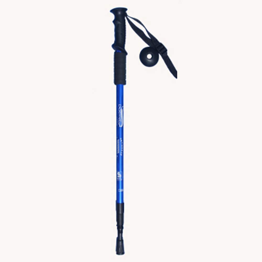 LTLSF Sorprendente Trekking Pole Retráctil Plegado Senderismo Escalada Viejo Hombre Antideslizante Muletas De Viaje 65-135cm