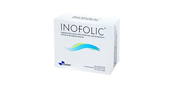 Amazon.com: inofolic 60 sobres (3 x 20) – Aumenta Huevo ...